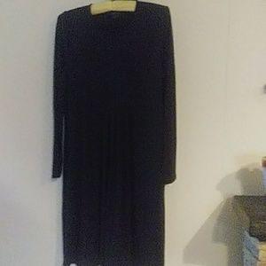JJill Wearever Collection black dress size S.